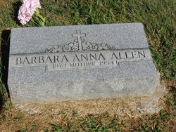 Barbara Anna <I>Holleren</I> Allen