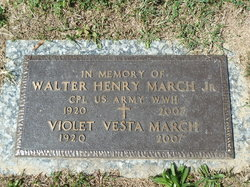 Violet Vesta <I>Lehman</I> March