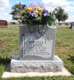 Marcella E. <I>York</I> Davis