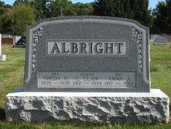 Theda V. <I>Lentz</I> Albright