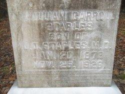 William Carroll Staples