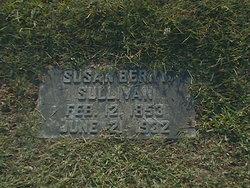 Mary Susan <I>Berry</I> Sullivan