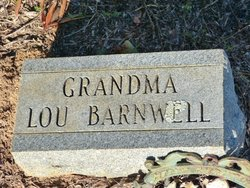"Martha Louise ""Lou"" <I>Pattillo</I> Barnwell"