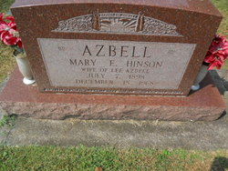 Mary E. <I>Morrison</I> Azbell