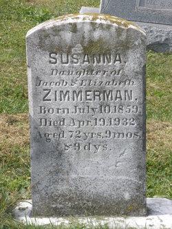 Susanna Zimmerman