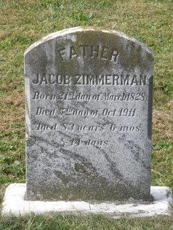 Jacob Wenger Zimmerman