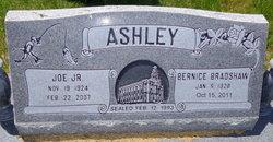 Bernice <I>Bradshaw</I> Ashley