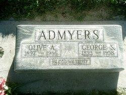 Olive A <I>Hunter</I> Admyers-Cooley