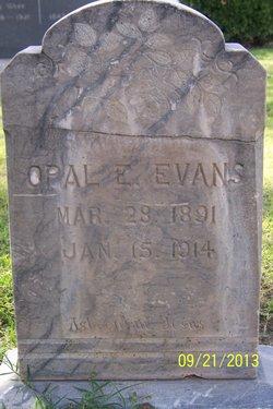 Opal E Evans