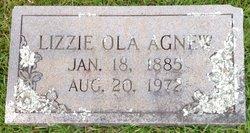 Lizzie Ola Agnew