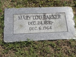 Mary Lou <I>Stuart</I> Barker