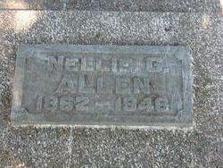 Nellie G <I>Campbell</I> Allen