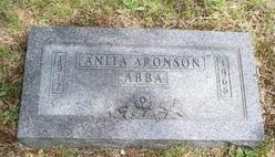 Anita <I>Aronson</I> Abba