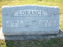 Lola Ruth <I>Dunlap</I> Lorance