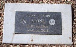 Vivian Le Nore <I>Redebaugh</I> Stone