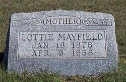 Lottie <I>McCrory</I> Mayfield