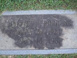 Marvin B Rorie, Sr