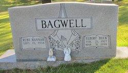 """Elbert """"Buck"""" Bagwell"""