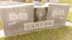 Aley M. <I>Monger</I> Cannon