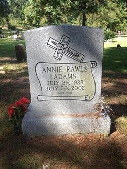 Annie <I>Rawls</I> Adams