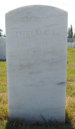 Thelma E Faulkner