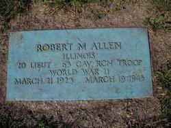 Robert M Allen