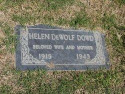 Helen <I>DeWolf</I> Dowd