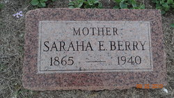 "Sarah Eleanor ""Ella"" <I>Foster</I> Berry"