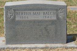 Bertha Mae Balch