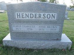 Anna E <I>Brown</I> Henderson