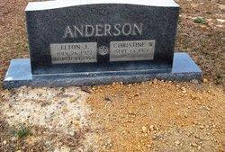 Christine <I>Anderson</I> Fortenberry