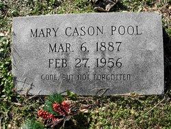 Mary <I>Cason</I> Brown