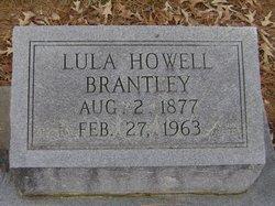 Lula <I>Howell</I> Brantley