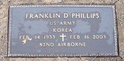 Franklin D Phillips