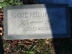 Nannie Jane <I>Phillips</I> Case