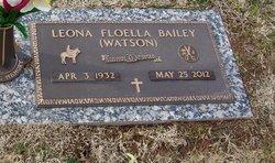 Leona Floella <I>Watson</I> Bailey