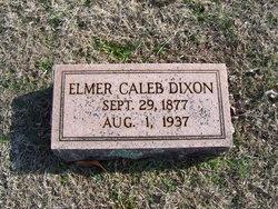 Elmer Caleb Dixon