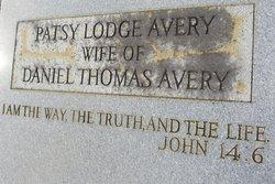 Patsy <I>Lodge</I> Avery