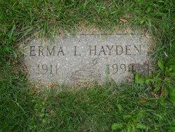 Erma Inez <I>Morris</I> Hayden