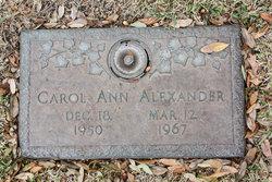 Carol Ann Alexander