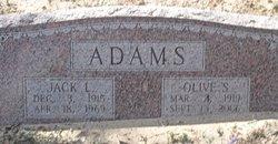 Olive S Adams