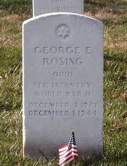 George E Rosing