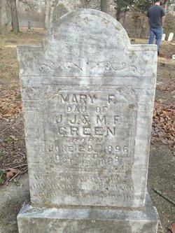 Mary F Green