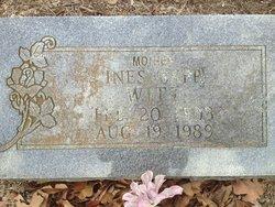 Ines <I>Sapp</I> Witt