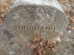 Jeff D Husband
