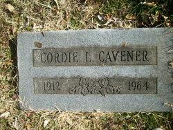"Cordia Leon ""Cordie"" Cavener"