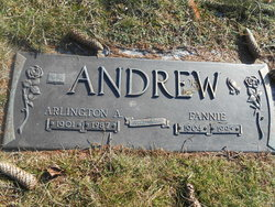 Fannie <I>Lee</I> Andrew