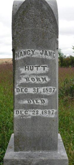 Nancy Jane <I>Graves</I> Hutt