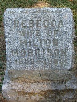 Rebecca B <I>Davidson</I> Morrison