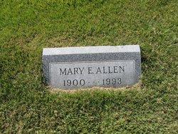 Mary E <I>Curran</I> Allen